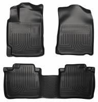 Husky Liners - Husky Liners 13 Lexus ES300h / ES350 Weatherbeater Black Front & 2nd Seat Floor Liners - Image 1