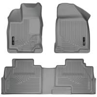 Husky Liners - Husky Liners 07-13 Ford Edge / 07-13 Lincoln MKX Weatherbeater Grey Front & 2nd Seat Floor Liners - Image 1