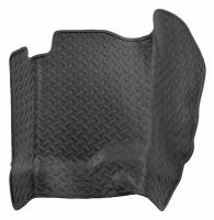 Husky Liners - Husky Liners 04-08 Ford F-150 Super/Crew Cab Classic Style Center Hump Black Floor Liner - Image 1