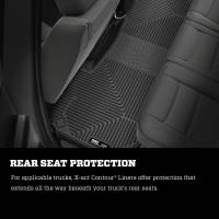 Husky Liners - Husky Liners 2019 Dodge Ram 1500 Crew Cab w/Storage Box Front & 2nd Seat X-Act Contour Floor Liners - Image 6