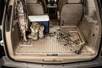 Husky Liners - Husky Liners 2018 Jeep Wrangler Unlimited (w/Subwoofer) WeatherBeater Black Rear Cargo Liner - Image 2
