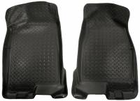 Husky Liners - Husky Liners 04-12 Chevy Colorado/GMC Canyon Crew Cab Classic Style Black Floor Liners - Image 1