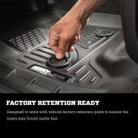 Husky Liners - Husky Liners 2015 Chevrolet/GMC Suburban/Yukon XL WeatherBeater Black Third Seat Floor Liners - Image 3
