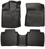 Husky Liners - Husky Liners 12-13 Toyota Venza WeatherBeater Black Front & 2nd Seat Floor Liners - Image 1
