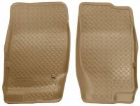 Husky Liners - Husky Liners 02-09 Ford Explorer/03-05 Lincoln Aviator Classic Style Tan Floor Liners - Image 1