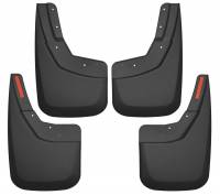 Husky Liners - Husky Liners 14-17 Chevy Silverado 1500 / 15-16 Silverado 2500 HD Front and Rear Mud Guards - Black - Image 1