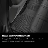 Husky Liners - Husky Liners 2019 Ram 1500 Quad Cab Front & 2nd Seat Weatherbeater Floor Liners - Image 8