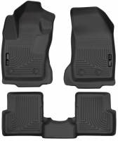 Husky Liners - Husky Liners 2015 Jeep Renegade Weatherbeater Black Front and Second Row Floor Liners - Image 1