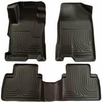Husky Liners - Husky Liners 06-11 Honda Civic (4DR) WeatherBeater Combo Black Floor Liners - Image 1