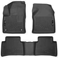 Husky Liners - Husky Liners 2016 Toyota Prius Weatherbeater Black Front & 2nd Seat Floor Liners (Footwell Coverage) - Image 1