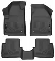 Husky Liners - Husky Liners 2013 Dodge Dart WeatherBeater Black Front & 2nd Seat Floor Liners - Image 1