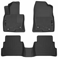 Husky Liners - Husky Liners 2017 Mazda CX-5 Weatherbeater Black Front & 2nd Seat Floor Liners - Image 1