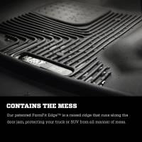 Husky Liners - Husky Liners 2018+ Jeep Wrangler X-Act Contour Black Front Floor Liners - Image 4