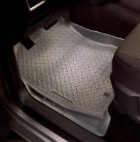 Husky Liners - Husky Liners 00-07 Ford F Series SuperDuty Reg./Super/Super Crew Cab Classic Style Gray Floor Liners - Image 2