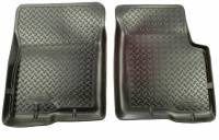 Husky Liners - Husky Liners 80-91 Chevy Blazer/GMC Jimmy (2DR/4WD)/Suburban Classic Style Black Floor Liners - Image 1