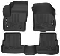 Husky Liners - Husky Liners 2015 Lincoln MKC WeatherBeater Black Front & Second Seat Floor Liner - Image 1