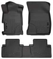 Husky Liners - Husky Liners 2012 Honda Civic WeatherBeater Combo Black Floor Liners - Image 1