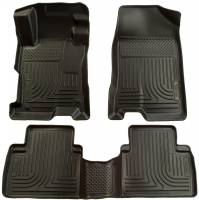 Husky Liners - Husky Liners 07-12 Nissan Altima (Non-Hybrid) WeatherBeater Combo Black Floor Liners (1pc. 2nd Row) - Image 1
