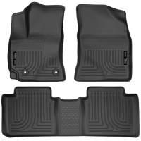 Husky Liners - Husky Liners 15 Toyota Corolla Weatherbeater Black Front & 2nd Seat Floor Liners - Image 1