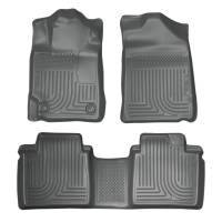 Husky Liners - Husky Liners 07-11 Toyota Camry (All) WeatherBeater Combo Gray Floor Liners (One Piece for 2nd Row) - Image 1