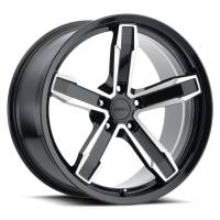 Factory Reproductions Wheels - FR Series Z10 Replica Iroc Wheel 20x10 5X120 ET20 66.9CB Gloss Black Machine Face - Image 1