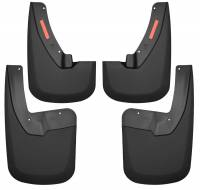 Husky Liners - Husky Liners 09-17 Dodge Ram 1500/2500 Both w/ OE Fender Flares Front and Rear Mud Guards - Black - Image 1