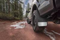 Husky Liners - Husky Liners Universal 12in Wide Black Rubber Front Mud Flaps w/o Weight - Image 2