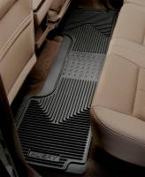 Husky Liners - Husky Liners 80-12 Ford F-150/00-05 Ford Excursion Heavy Duty Black 2nd Row Floor Mats - Image 2
