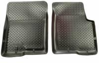 Husky Liners - Husky Liners 04-12 Nissan Armada/Titan/Infiniti QX56 Classic Style Black Floor Liners - Image 1