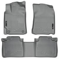 Husky Liners - Husky Liners 2012 Toyota Camry WeatherBeater Combo Gray Floor Liners - Image 1