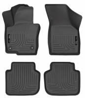 Husky Liners - Husky Liners 2012 Volkswagen Passat WeatherBeater Combo Black Floor Liners - Image 1