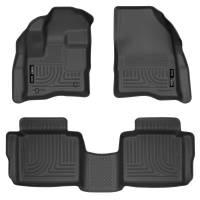 Husky Liners - Husky Liners 10-13 Ford Taurus WeatherBeater Combo Black Floor Liners - Image 1