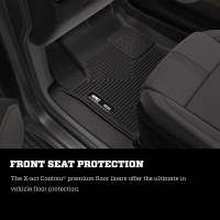Husky Liners - Husky Liners 16-18 Honda Civic X-Act Contour Black Floor Liners (2nd Seat) - Image 2