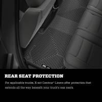 Husky Liners - Husky Liners 10-17 Dodge Ram 2500 Crew Cab X-Act Contour Cocoa 2nd Seat Floor Liner - Image 6