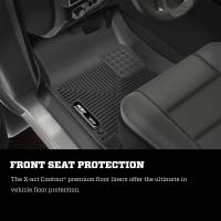 Husky Liners - Husky Liners 09-17 Dodge Ram 1500 Crew Cab X-Act Contour Cocoa Front Floor Liners (A/T Only) - Image 5