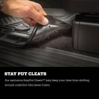 Husky Liners - Husky Liners 2016 Nissan Titan XD Crew Cab WeatherBeater Front Row Black Floor Liners - Image 7