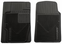 Husky Liners - Husky Liners 03-06 Infiniti G35/05-07 Subaru WRX/01-04 Lexus IS300 Heavy Duty Black Front Floor Mats - Image 1