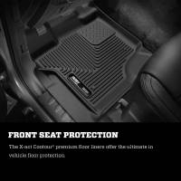 Husky Liners - Husky Liners 2015 Ford F-150 SuperCrew Cab X-Act Contour Black Front Seat Floor Liners - Image 4