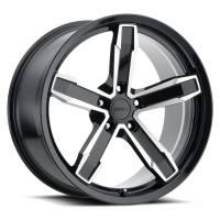 Factory Reproductions Wheels - FR Series Z10 Replica Iroc Wheel 20x11 5X120 ET43 66.9CB Gloss Black Machine Face - Image 1
