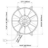 "SPAL - SPAL High Performance Fans: VA15-AP70/LL-39A * 10""P/12V - Image 2"
