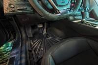 Husky Liners - Husky Liners 17-19 Infiniti Q60 Mogo Black Front Row Floor Liners - Image 2