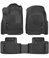 Husky Liners - Husky Liners 16 Dodge Durango/Jeep Grand Cherokee Weatherbeater Black Front & 2nd Seat Floor Liners - Image 1