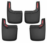 Husky Liners - Husky Liners 17 Ford F-250 Super Duty / F-350 Super Duty Front and Rear Mud Guards (w/ Flares) Black - Image 1