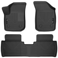 Husky Liners - Husky Liners 2017 Buick Envision Weatherbeater Black Front & 2nd Seat Floor Liners - Image 1