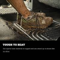 Husky Liners - Husky Liners 2018 Jeep Wrangler WeatherBeater Front Row Black Floor Liners - Image 8