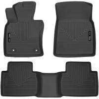 Husky Liners - Husky Liners 2018 Toyota Camry Weatherbeater Black Front & 2nd Seat Floor Liners - Image 1