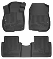 Husky Liners - Husky Liners 2017 Honda CR-V Weatherbeater Black Front & 2nd Seat Floor Liners - Image 1