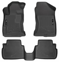 Husky Liners - Husky Liners 2017 Subaru Impreza Weatherbeater Black Front & 2nd Seat Floor Liners - Image 1