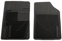 Husky Liners - Husky Liners 07-09 Acura MDX/07-12 Lincoln MKX/MKZ Heavy Duty Black Front Floor Mats - Image 1