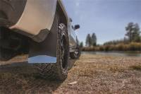 Husky Liners - Husky Liners Universal 12in Wide Black Rubber Front Mud Flaps w/ Black Weight - Image 2